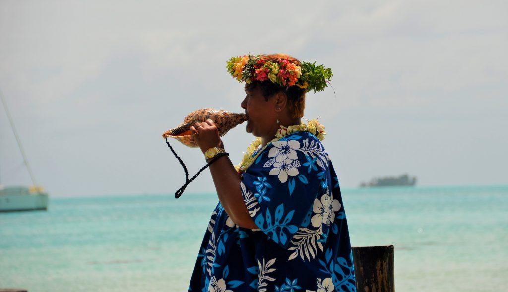 Mariage traditionnel en Polynésie Le pu