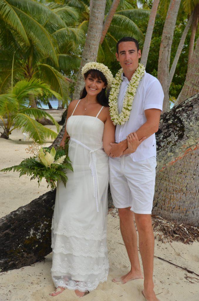 Mariage traditionnel en Polynésie