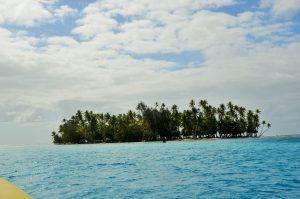 Mariage traditionnel en Polynésie Le Motu Cérant