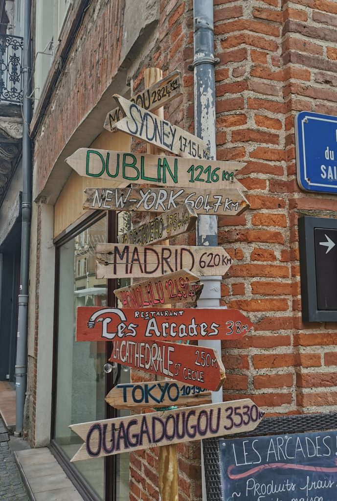 madame m blog voyage  un samedi à Albi dans les rues d'Albi