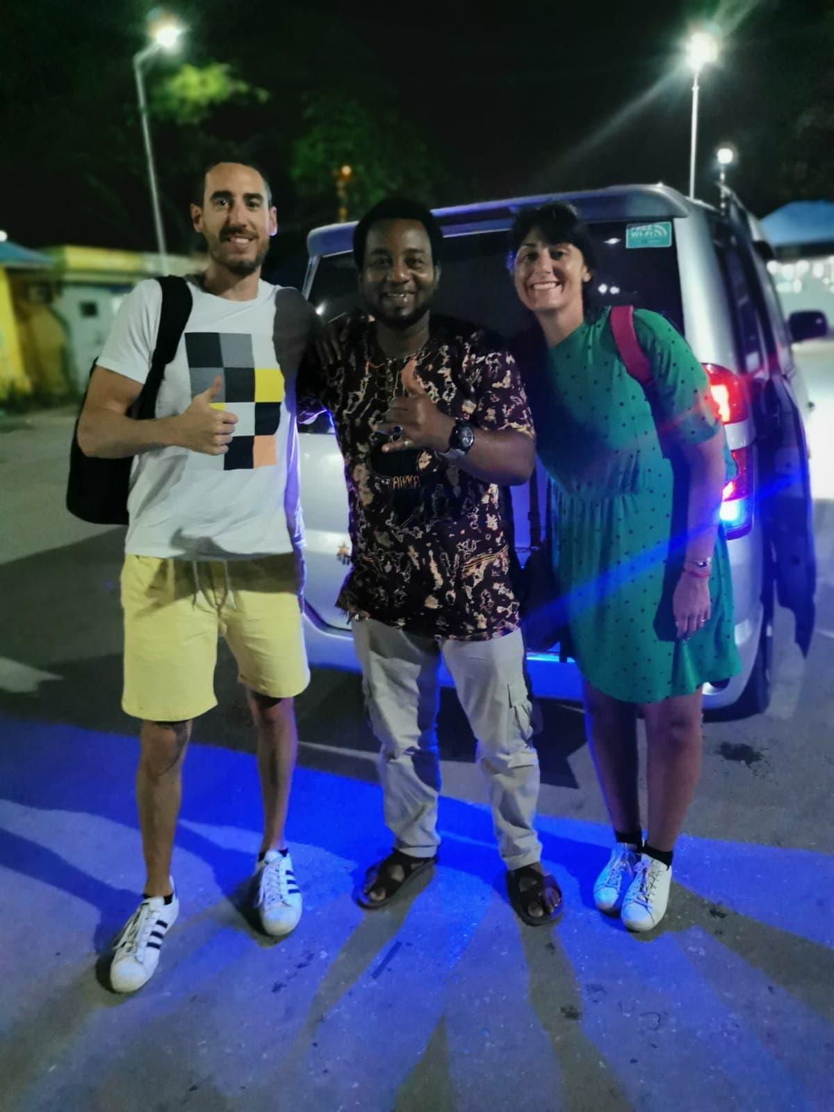 Madame M les voyages blog voyage  Découvrir Jambiani et Paje à Zanzibar Notre taxi Eddie