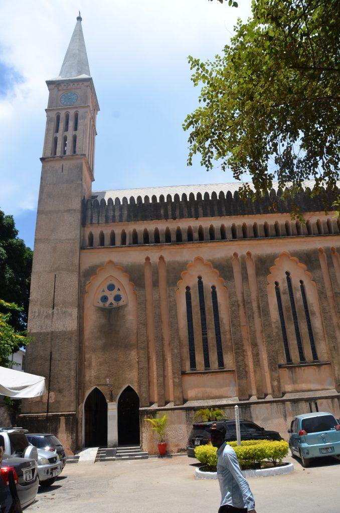 blog voyage Madame M les voyages 6 choses à faire à Zanzibar l'église anglicane de Stone Town