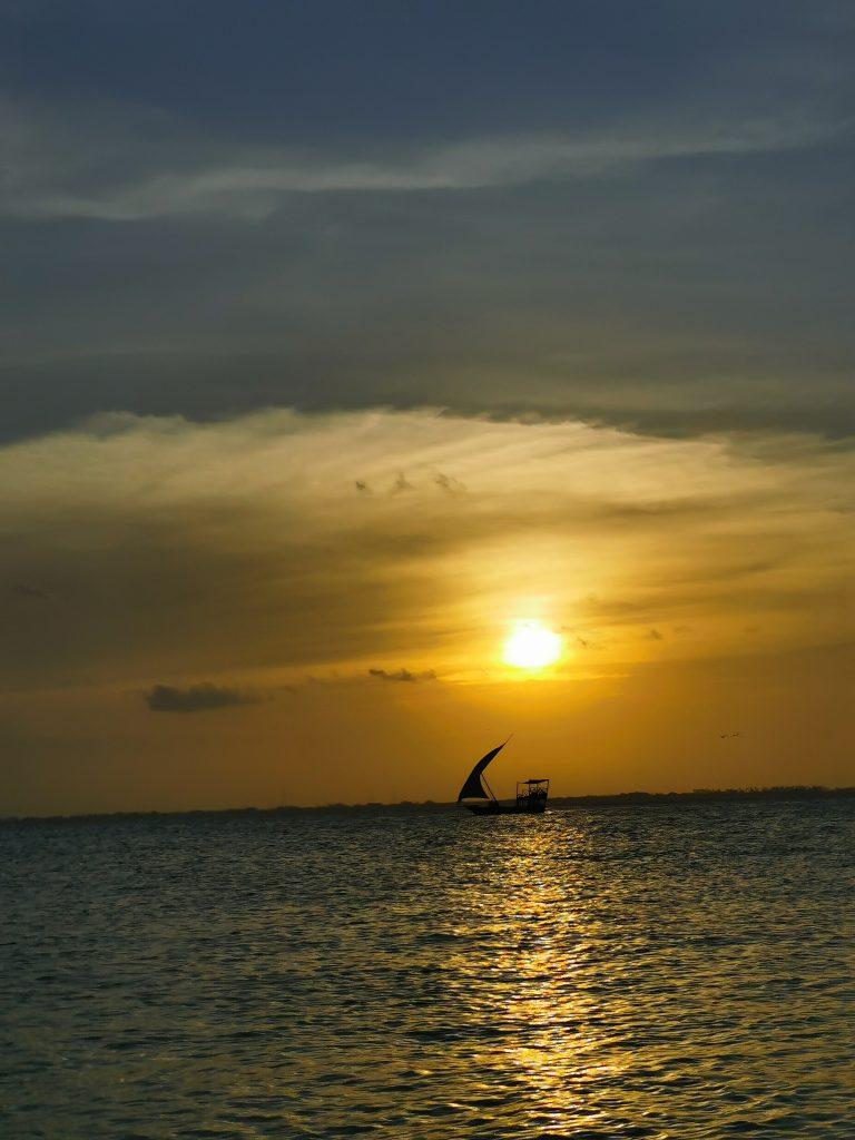 Madame M les voyages blog voyage  Découvrir Jambiani et Paje à Zanzibar Sunset cruise