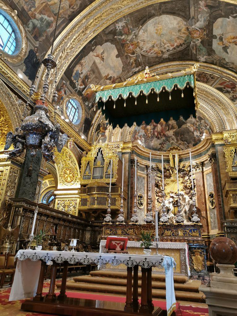 Découvrir la Valette à Malte Blog Madame M les voyages La co-cathédrale St Jean