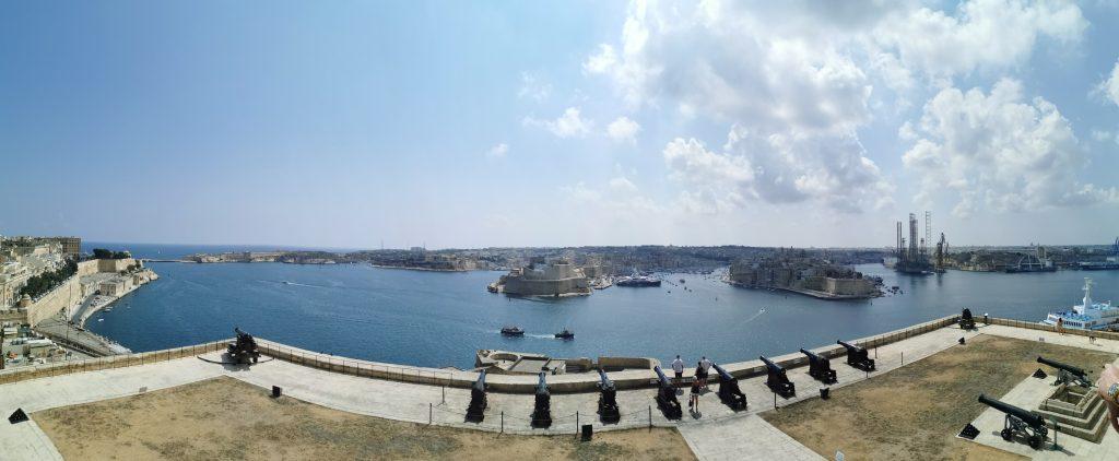 Découvrir la Valette à Malte Blog Madame M les voyages La batterie du salut