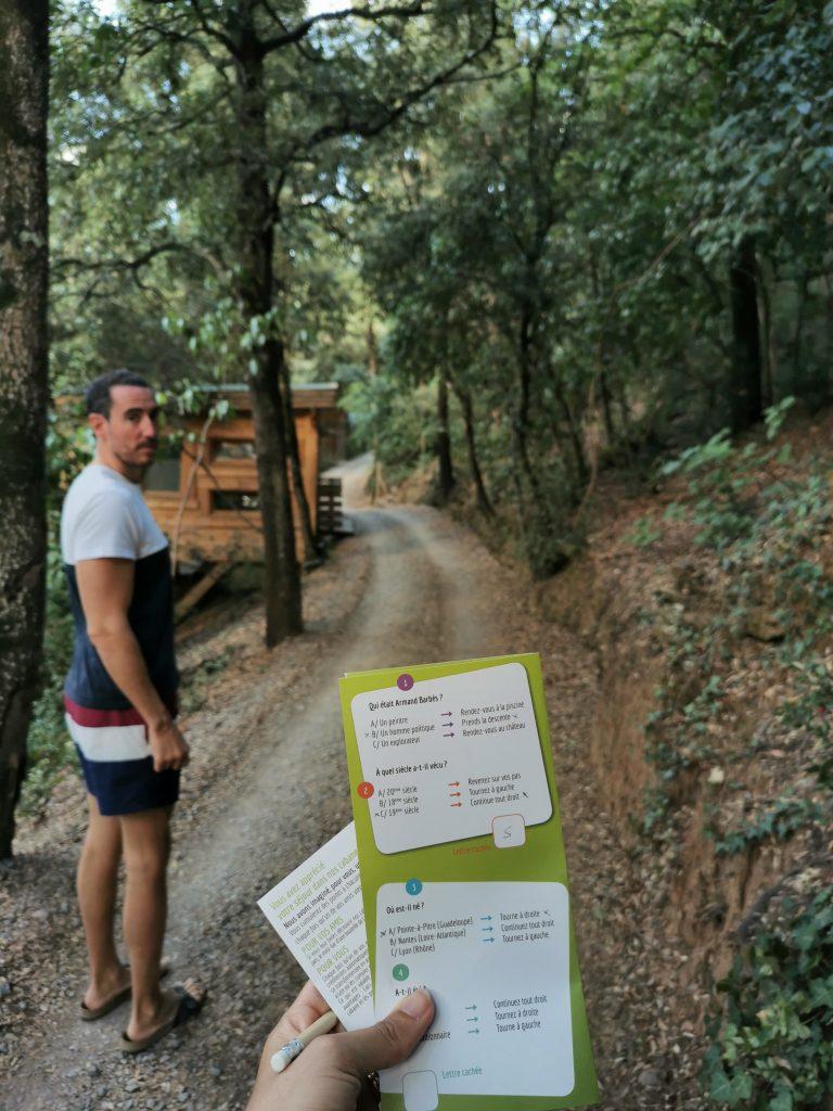 Madamem les voyages  blog voyages  les cabanes dans les bois  jeux de piste